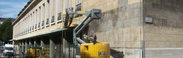 nettoyage façade hydrogommage