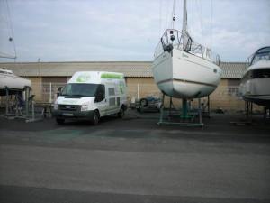 renovation coque bateau